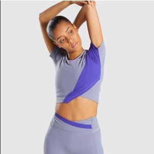 Gymshark Asymmetric Crop Top
